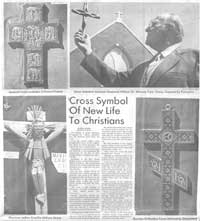 Cross symbol article