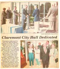 Claremont city hall