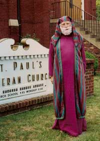 Stanley Stiver as St. Peter